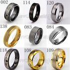 Men Women Tungsten Carbide Celtic Design Style Band Wedding Anniversary Ring