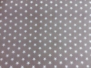 Polycotton Fabric NEW Craft GIRLS BLUE UNICORN STAR Metre Material Special Offer