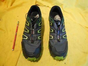 Course Noiramp; Unis De Homme Détails Vert Afficher Trak Tombé Speed Ocr D'origine Chaussures Taille Salomon 11 Trail Titre Sur Etats Est Le PXZTOkiu