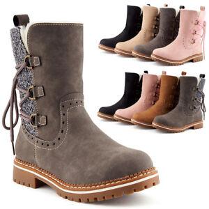 erstaunlicher Preis präsentieren heiß-verkauf echt Details zu Neu Damen Schlupf Stiefeletten Boots Winter Stiefel Gefüttert  1834 Schuhe 36-41