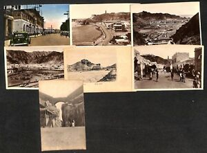 Yemen-Aden-lot-7-vintage-postcards