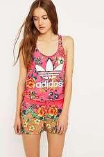 adidas Originals x Farm Jardineto Pink Playsuit Jumpsuit - UK8/EU34 - RRP £45