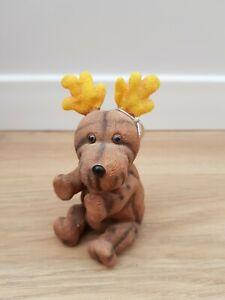 Treasured Pals Antler Reindeer Ornament 1999