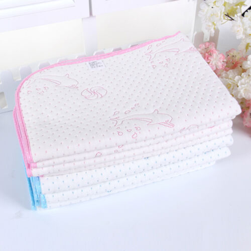 Baby Kids Waterproof Bedding Diapering Changing Mat Washable Breathable Cot TPD