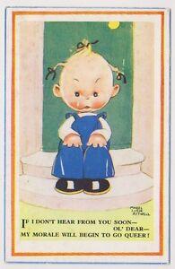 Artiste Carte Postale - If I Don'T Hear De You Par Mabel Lucie Attwell - No 881