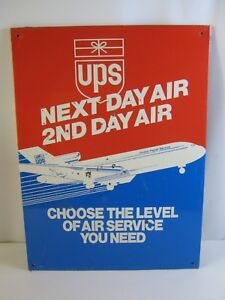 Vintage 90's era United Parcel Service UPS Next Day Air 2nd