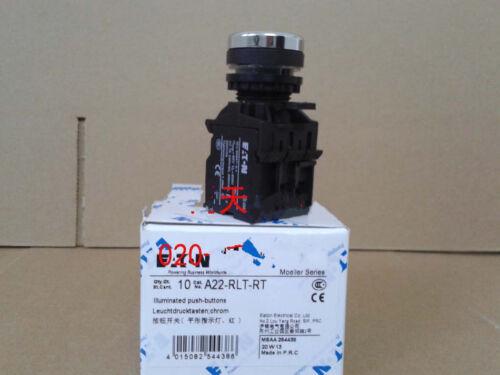 24v 1pcs New MOELLER A22-RLT-RT With lights