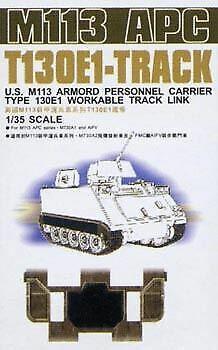 AFV CLUB 1//35 US M113 APC T130E1 WORKABLE TRACK LINKS 35S22 D