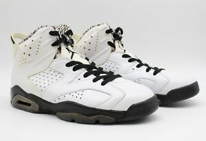 48cb23f8c05e Air Jordan Men s VI 6 Retro Premium  Motorsport  White Black 395866 ...
