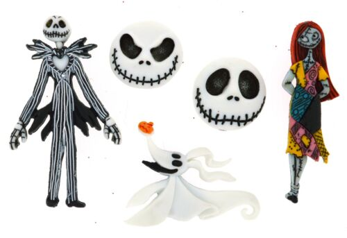 DISNEY NIGHTMARE BEFORE CHRISTMAS Jesse James Dress It Up Buttons ~ LICENSED