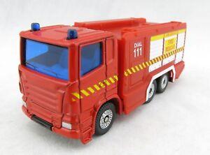 Siku 1591 Nz Scania Fire Department Water Cannon Truck New Zealand Ebay