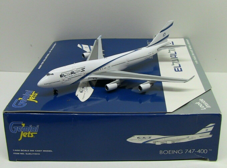 Gemini Jets El Al Boeing 747-400 4X-ELB 1 400 GJELY1810