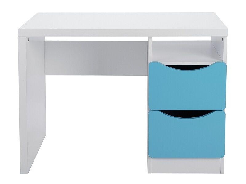 nouveau study desk Robeing table tolga bleu on blanc 4536927