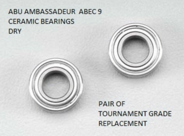 Abu 6500 fits all reels with Spool bearings Tournament Specials abec7