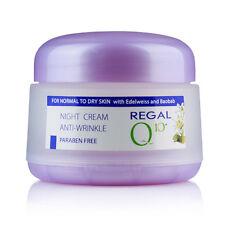 Crema de noche anti arrugas con Baobab y Edelweiss piel normal a seca, Regal Q10