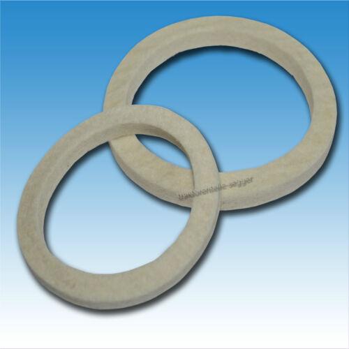 Cigüeñales anillo de fieltro-conjunto de Deutz f 2 m 414 fieltro anillo anillo obturador tractor