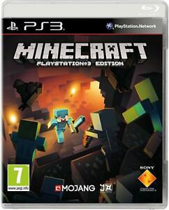 Minecraft-PlayStation-Edition-PS3-Menta-Super-Fast-amp-Consegna-Rapida-Gratis