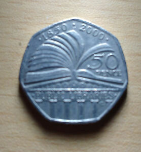 50p-150-Years-Anniversary-PUBLIC-LIBRARIES-2000