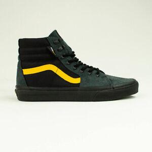 vans noir jaune