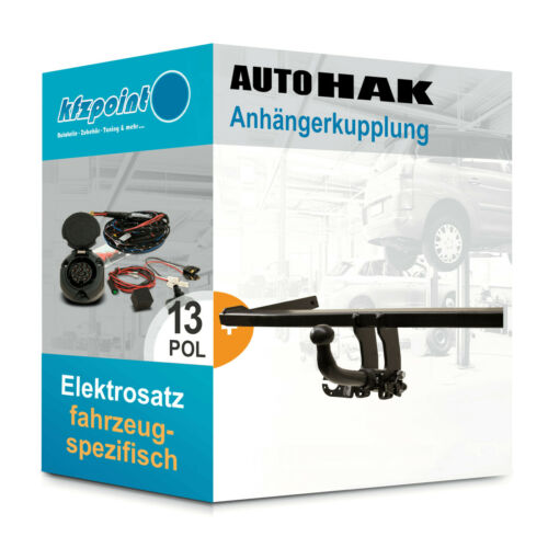 Für Suzuki Celerio 14 13polig E-Satz neu AUTO HAK Anhängerkupplung abnehmbar