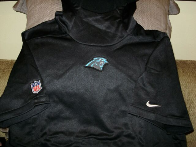 wholesale dealer bf390 f2d6a NFL Carolina Panthers NIKE Therma-Fit Pullover Hoodie Top Jacket Men's  Medium