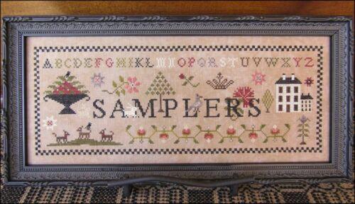 Samplers The Scarlett House Pattern or Kit