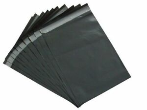 50-x-Strong-Large-Grey-Mailing-Postal-Bags-17-x24-034-Mailers-High-Quality