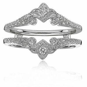 2-40-Ct-Round-Diamond-14K-White-Gold-Enhancer-Engagement-Wrap-Ring