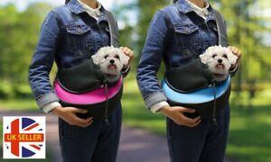 Dog-Cat-Pet-Carrier-Sling-Hands-Free-Outdoor-Travel-Shoulder-Bag-Tote-Pouch