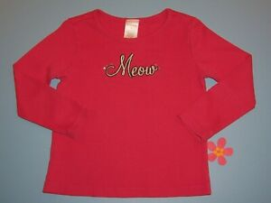 Gymboree-girls-VTG-034-CLASSROOM-KITTY-034-sz-4-TOP-PINK-OUTLET