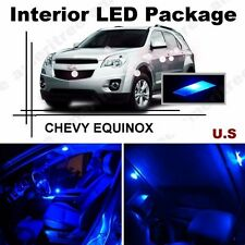 Blue LED Lights Interior Package Kit for CHEVY Equinox 2010 & Up  ( 7 Pieces )