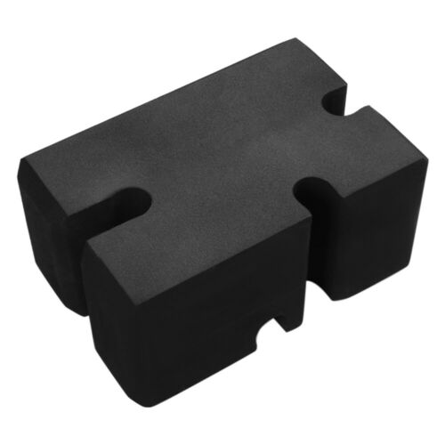 Adjustable Deep Squat Bench Block Training Gym Fitness EVA Pad Black UK