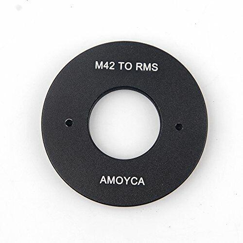 Adaptador de Lente Pixco Traje para RMS Royal Microscopy sociedad de montaje de la lente a M42
