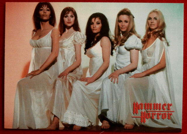 HAMMER HORROR - Series 2 - Card #123 - The Vampire Lovers - Ingrid Pitt