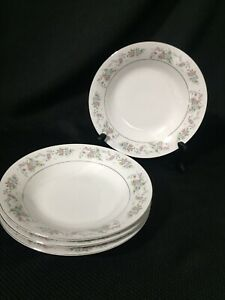 Set-of-4-SANGO-Majesty-Collection-Cannes-8078-China-Bowls-1977