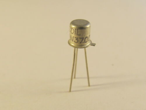10 Stück 2N3700 CDIL NPN Transistor im TO18 Gehäuse A10//3021 10pcs