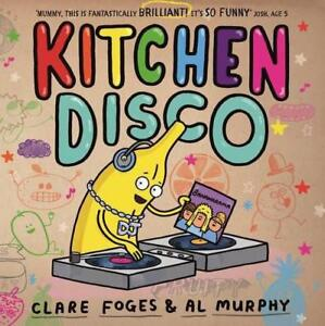 Kitchen-Disco-by-Foges-Clare-NEW-Book-FREE-amp-Fast-Delivery-Paperback