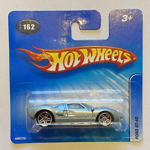 2005-HOTWHEELS-FORD-GT-GT40-GT-40-del-Golfo-livrea-VARIANTE-Nuovo-di-zecca-MOC-molto-rara