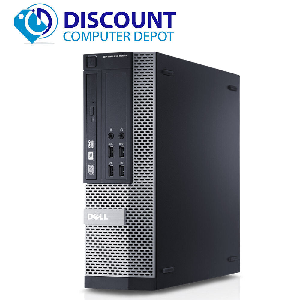 Dell Optiplex Desktop Computer Core i5 8GB 256GB SSD Wifi HD Windows 10 PC. Buy it now for 157.95
