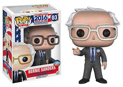 Campaign 2016 POP! Games Vinyl Figure Bernie Sanders 9 cm Funko Historical Mini