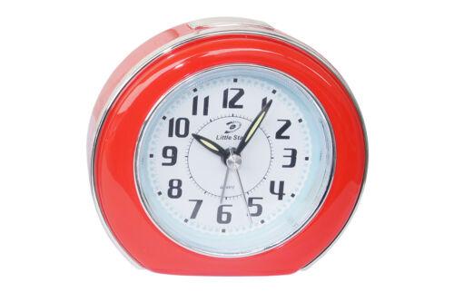 Tischuhr Retrowecker Nostalgie Tischuhr Weckker Weckfunktion Alarm Glockenwecker