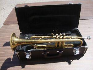 Conn Fitch Trumpet Elkhart Ind Vincent Bach Mouthpiece 7C Yamaha Case