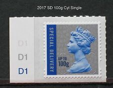 2017 - M17L - SPECIAL DELIVERY 100g - Counter Sheet CYL SINGLE