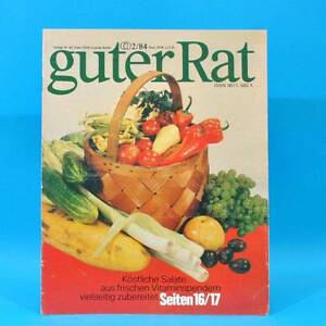 Guter-Rat-2-1984-Verlag-fuer-die-Frau-DDR-Elasan-Kloesse-Gartenmoebel-Sonnenuhr-F