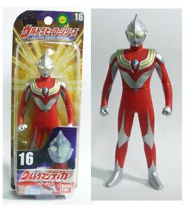 "Ultra Hero Series #16 VINYL ULTRAMAN TIGA POWER TYPE 6/"" Action Figure MISB New"