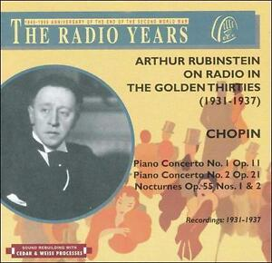 FREE US SHIP. on ANY 3+ CDs! ~Used,Very Good CD : Chopin Pno Conc 1&2