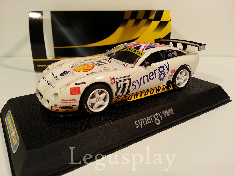 Slot SCX Scalextric Superslot H2590 TVR Tuscan 400R  CDL Racing  Nº27