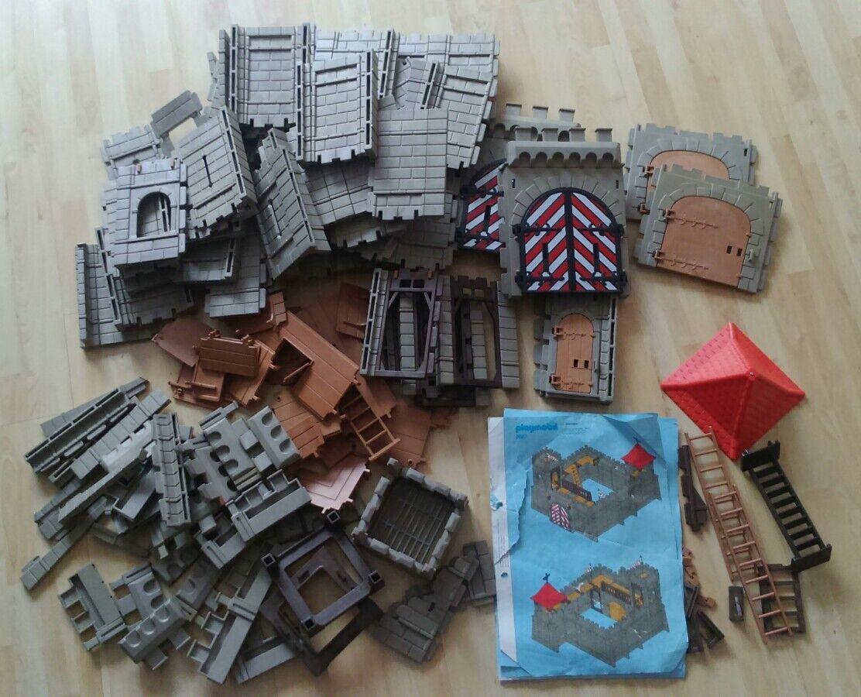 XL-Sammlung Playmobil Burgteile (altes System) System) System)  | Angemessene Lieferung und pünktliche Lieferung  ae49dd