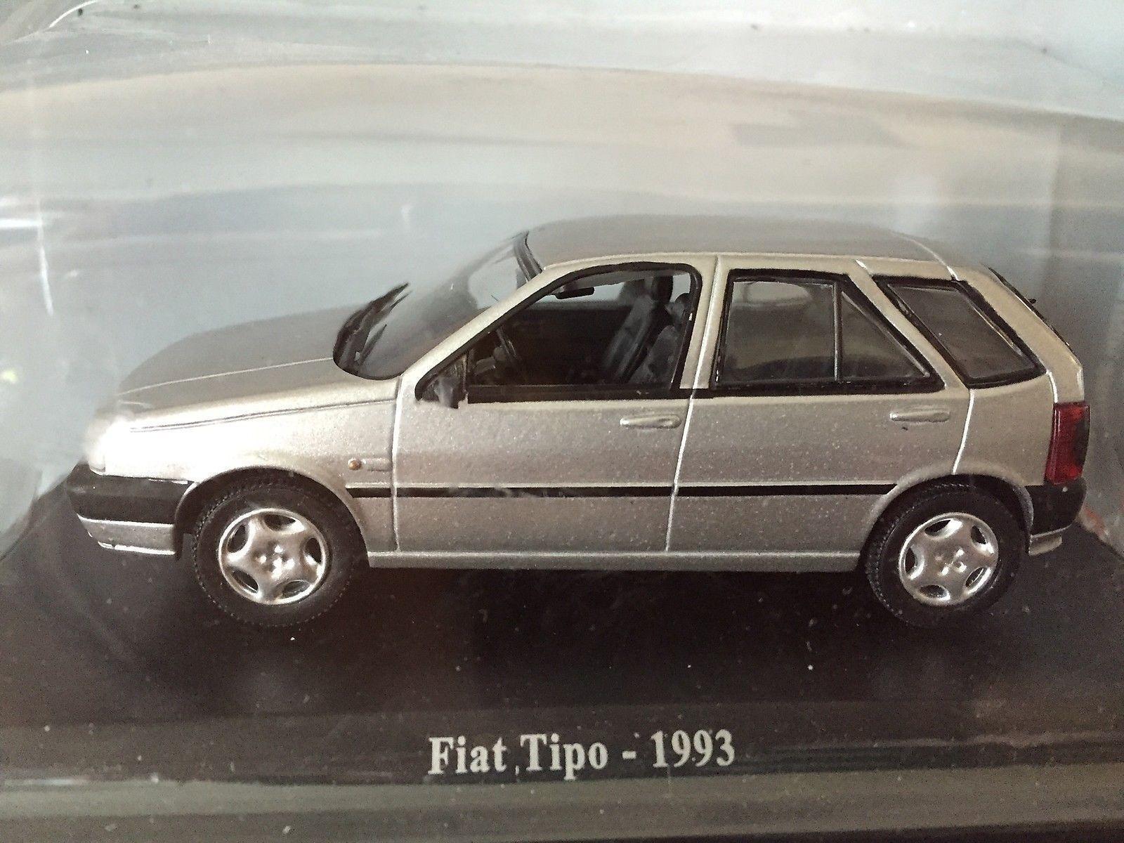 223 Fiat Tipo 1.9 Turbo Diesel 1993 grau - NOREV 1 43 - NOREV 1 43