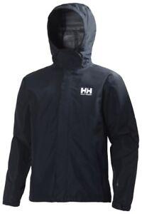 Helly-Hansen-Seven-J-Jacket-Men-039-s-Waterproof-Jacket-62047-596-Navy-NEW